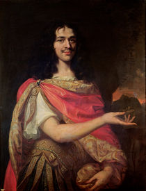 Portrait presumed to be Moliere by French School