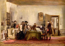 Sketch for 'The Reading of a Will' by David Wilkie