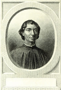 Portrait of Niccolo Machiavelli von Italian School