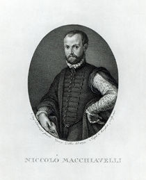 Portrait of Niccolo Machiavelli by Agnolo Bronzino