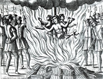 The account of the three Guernsey martyrs burned at the stake von English School