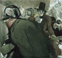 Illustration for 'The Nose' by Nikolai Gogol 1904 von Leon Bakst