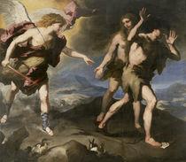 Expulsion from Paradise by Luca Giordano