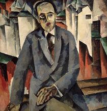 Portrait of the Regisseur Alexander J. Tairov by Aristarkh Vasilievic Lentulov