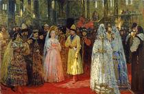 The Tsar choosing a Bride, c.1886 von Ilya Efimovich Repin