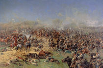 Battle of Borodino on 26th August 1812 by Franz Roubaud