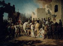 Tsar Ivan IV conquering Kazan in 1552 by Petr Mikhailovich Shamshin