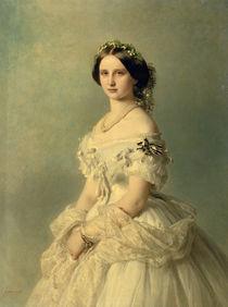 Portrait of Princess of Baden von Franz Xaver Winterhalter