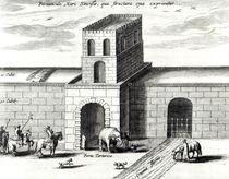 A Doorway in the Great Wall von Dutch School
