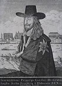 Portrait of King Charles I von Anthony van Dyck