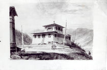 The Residence of Lam Glassa-too by James Basire