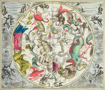 Map of the Southern Hemisphere by Andreas Cellarius