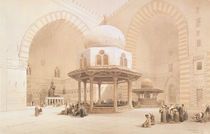 Mosque of Sultan Hassan, 1848 by David Roberts