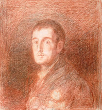 Study for an equestrian portrait of the Duke of Wellington c.1812 by Francisco Jose de Goya y Lucientes