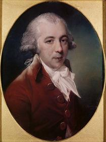 Portrait of Richard Brinsley Sheridan 1788 by John Russell