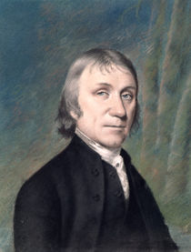 Portrait of Joseph Priestley by James Sharples