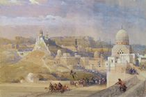 The Citadel of Cairo, Residence of Mehmet Ali von David Roberts