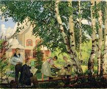 At Home, 1914-18 von Boris Mikhailovich Kustodiev