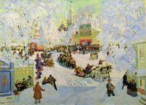 Shrove-Tide, 1919 von Boris Mikhailovich Kustodiev