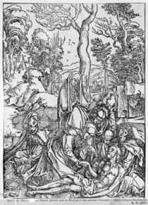 Christ mourned by the Virgin and the female Saints by Albrecht Dürer