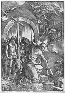 The descent of Christ into Limbo by Albrecht Dürer