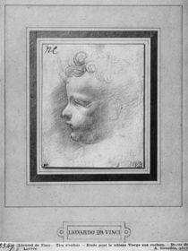 Head of a child von Leonardo Da Vinci