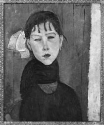 Marie, young woman of the people by Amedeo Modigliani