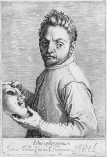 The Actor Jean Gabriel Swel von Agostino Carracci