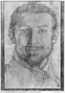 Self portrait by Annibale Carracci