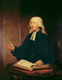 Portrait of John Wesley 1788 by William Hamilton