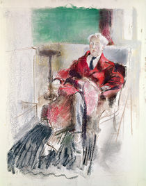 Portrait of George Moore c.1920 by Henry Tonks