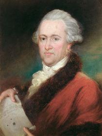 Portrait of Sir William Herschel c.1795 by John Russell