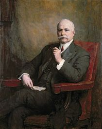 Portrait of Sir Edward Hopkinson Holden First Baronet 1911 by Walter William Ouless