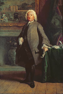 Portrait of Samuel Richardson 1750 von Joseph Highmore