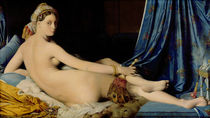 The Grande Odalisque, 1814 by Jean Auguste Dominique Ingres