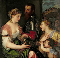 Allegory of Married Life von Titian