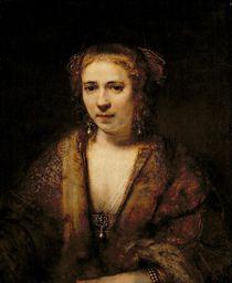 Portrait of Hendrikje Stoffels von Rembrandt Harmenszoon van Rijn