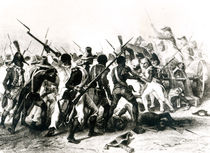 Battle of Vertieres, San Domingo by French School