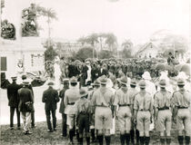Unveiling of War Memorial, Port of Spain, Trinidad, c.1920 von English Photographer