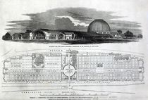 Building for the Great Industrial Exhibition von English School