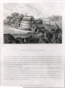 Bear Garden, 1647 by Wenceslaus Hollar