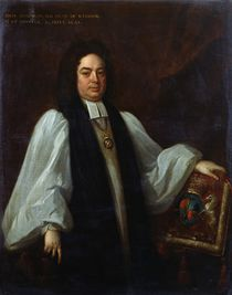 Portrait of Bishop John Robinson c.1711 by Michael Dahl