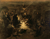 The Death of Nelson, 21st October 1805 by Arthur William Devis