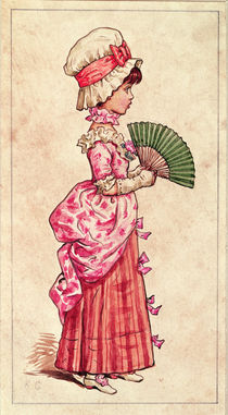 Illustration for 'St. Valentine's Day' by Kate Greenaway