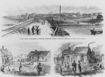 Trent River Settlement, 1886 by Theodore Russell Davis
