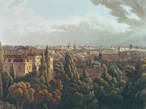 View of Oxford from the Gallery in the Observatory by William Turner