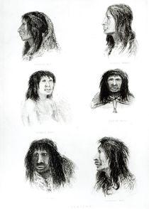 Fuegians, 1838 by English School