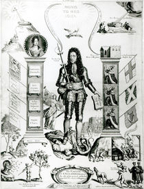 The Emblem of England, October 1690 by English School