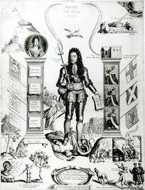 The Emblem of England, October 1690 von English School