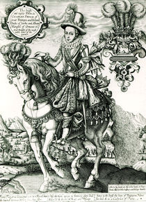 Portrait of Charles I as a Prince by English School